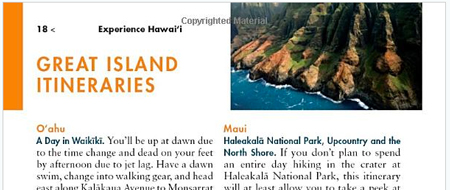 Hawaii Guidebook Fodor's Hawaii Itineraries