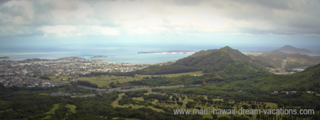 Honolulu Attractions Nuuanu Pali Lookout