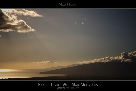 Maui Hawaii Sunset Posters