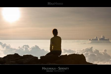 Hawaii Maui Posters of Haleakala Sunsets