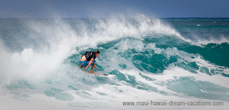 Maui Surf Pictures La Perouse Bay