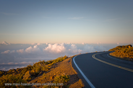Pictures of Maui Haleakala Road