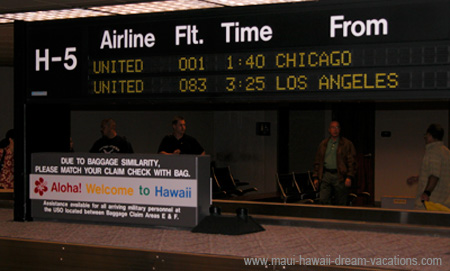 Hawaii Airport Baggage Claim