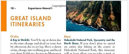 Hawaii Guidebook Fodor's Hawaii Itineraries
