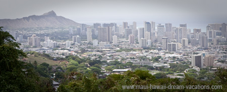 Honolulu Attractions Diamond Head
