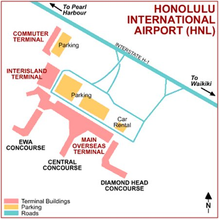Honolulu International Airport Terminals