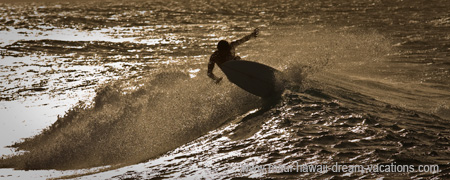 Maui Surf Pictures Hookipa Backlight