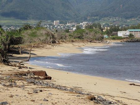 Maui Tsunami Pictures Kanaha Beach